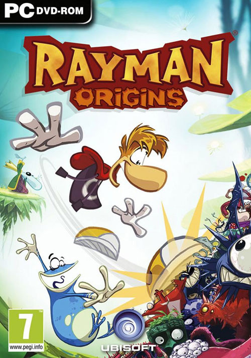 Rayman Origins - Packshot
