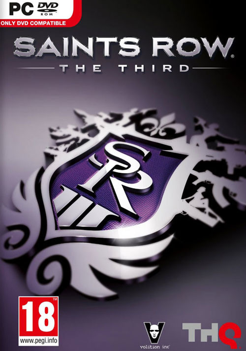 Saints Row: The Third - Packshot