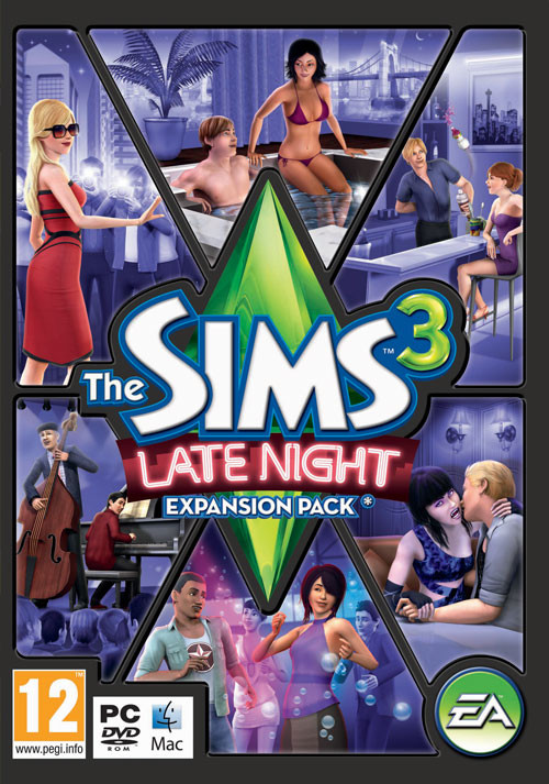 The Sims 3 - Late Night Pack - Packshot